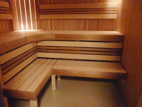 Высота полков в бане
